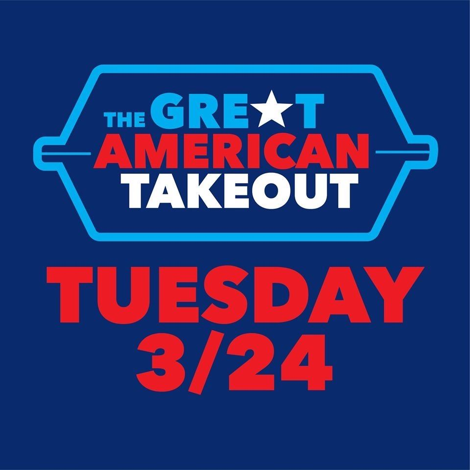 Great American Take Out Tuesday