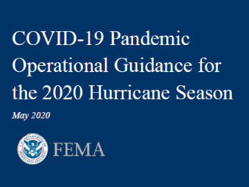 COVID-19 Pandemic Operational Guidance for the 2020 Hurricane Season