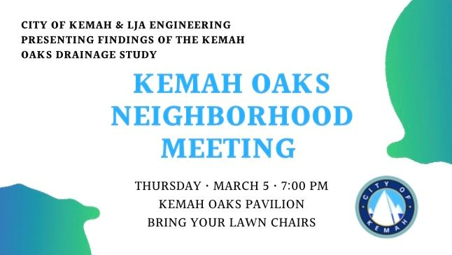 Kemah Oaks Neighborhood Meeting